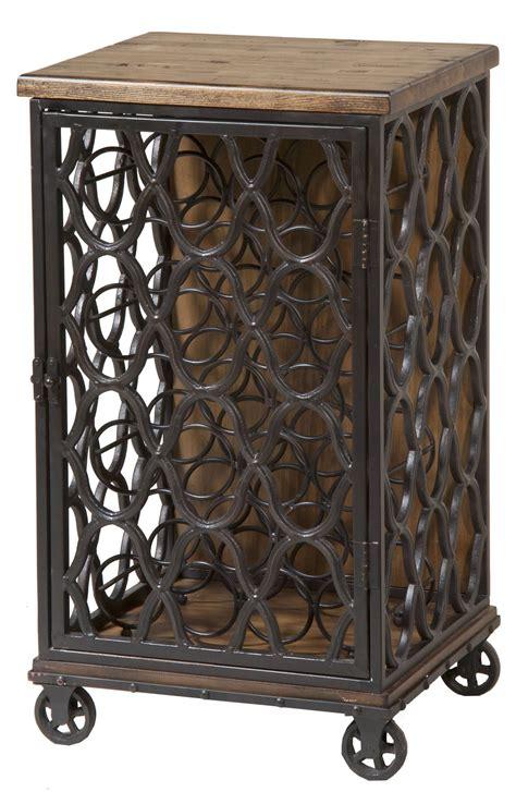 Wood And Metal Wine Rack by Wood Metal Wine Rack 249 075 Stein World