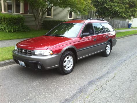 red subaru outback 1996 subaru outback for sale awd auto sales