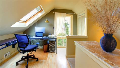 how to turn your attic into a bedroom how to turn your attic into a dream office hss blog