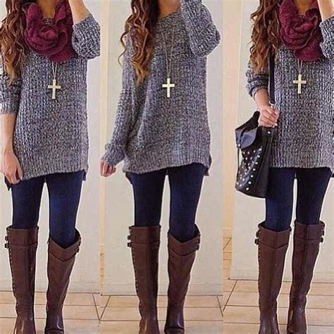 pinterest fashion women women dress for fall winter winter fashion cross necklaces and boots on pinterest