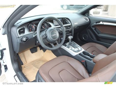Audi Q5 Chestnut Brown Interior by Chestnut Brown Interior 2013 Audi A5 2 0t Quattro Coupe
