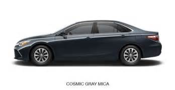 2015 camry colors what is different on camry 2015 autos post