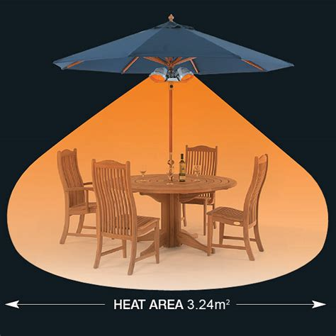 Heatmaster Favourite Patio Heater U3B R15   Drinkstuff