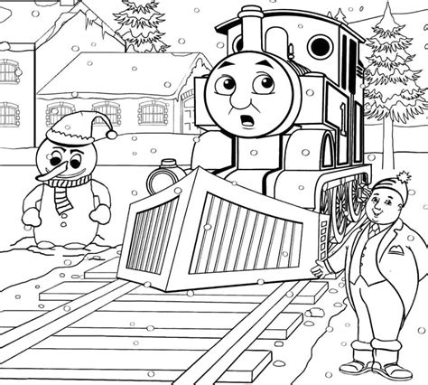 free coloring pages of thomas and friends henry