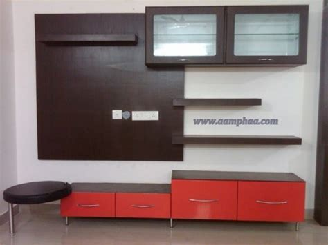 hall tv unit designs  rs  pieces television wall unit