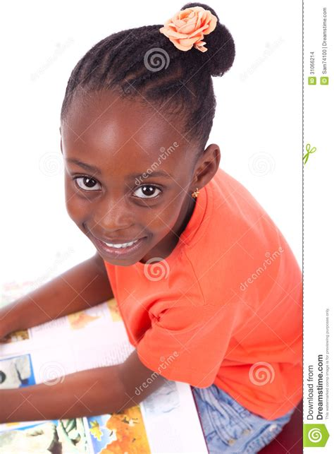cute hairstylesondoesross for black people cute black african american little girl reading a book