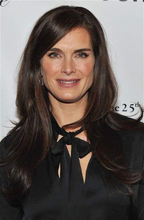 best haircuts for straight hair 2014 after 40 brooke shields plastic surgery before and after