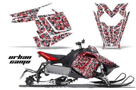 Stiker Camo Camouflage 177 polaris 2011 2016 pro rmk snowmobile sled graphic