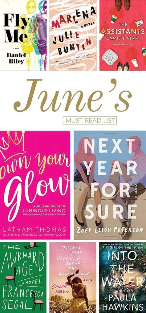 the must guide a listed must read list for june glitter guide