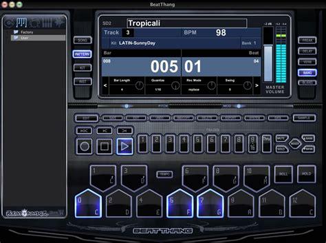 drum rhythm program virtual drum machine