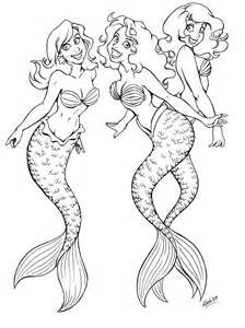 mermaids friends by momo81 on deviantart