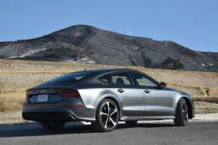 Audy Rs7 A Dangerous Situation In A 2016 Audi Rs7 Performance