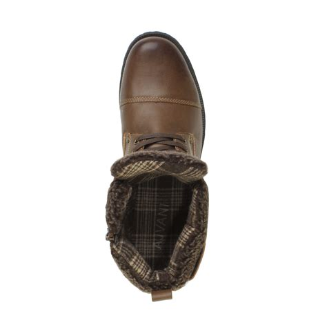 mens lace up biker boots mens zip lace up buckle fur collar smart casual combat