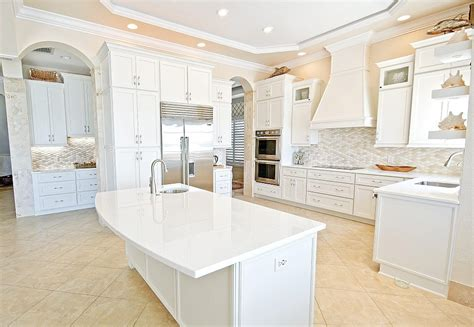 White Glass Countertop by Concrete Countertops Downing Designs