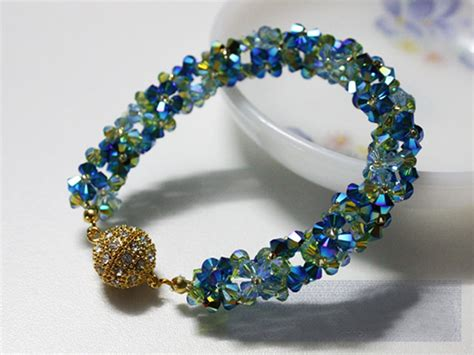 bead a how to bead a bracelet learn to cross weave nbeads