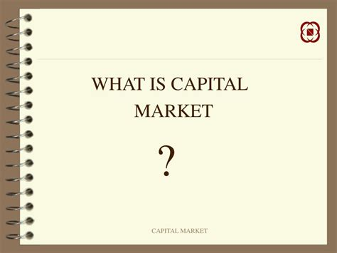 Capital Market Ppt For Mba by Ppt Capital Market Powerpoint Presentation Id 632034