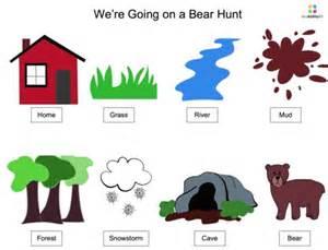 free song board visual bear hunt song visual aids ants finals