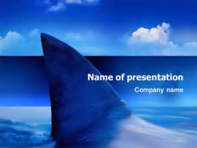 Shark Powerpoint Template shark presentation template for powerpoint and keynote