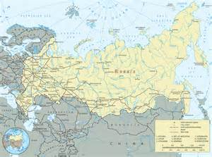 map of russia with cities rivers and mountains maps of usa