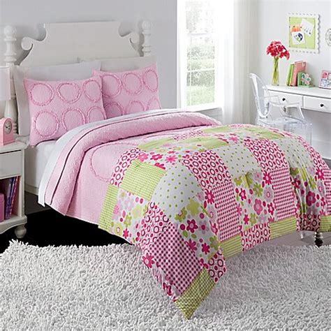 bed bath and beyond charlotte charlotte comforter quilt set in pink bed bath beyond