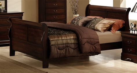 betten braun homelegance chateau brown bed 549 1 at homelement