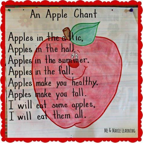 theme songs for kindergarten september song charts apples me marie learning
