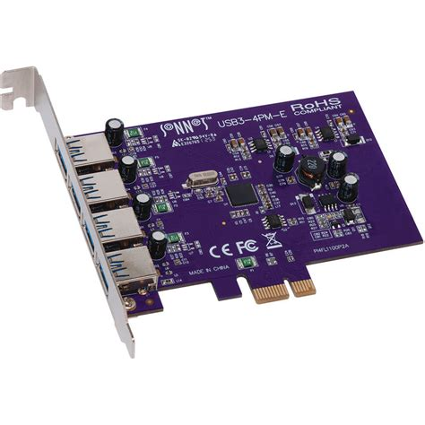Usb Card 3 0 sonnet usb3 4pm e allegro 4 port usb 3 0 pci express usb3