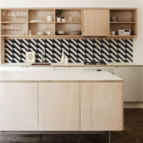 wallpaper that looks like tile for kitchen backsplash remodeling 101 6 budget backsplash hacks remodelista