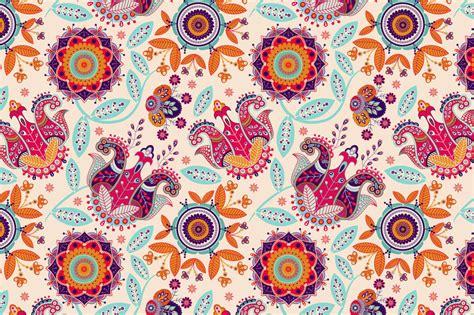 ai move pattern flowers seamless pattern patterns on creative market