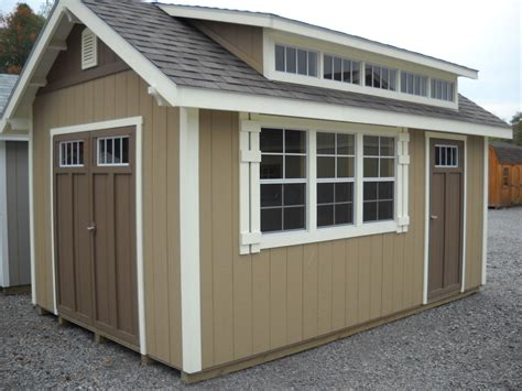 Sheds Somerset by 10 X16 Deluxe Tri Color Somerset Shed Style