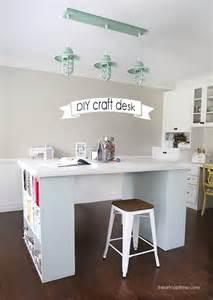 Small Craft Desk 7 Diy Craft Desks