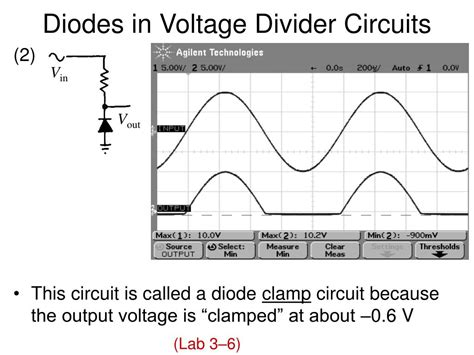 diode voltage divider ppt parallel lc resonant circuit powerpoint presentation id 417949