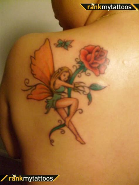 fairy and flower tattoo designs 30 with butterfly tattoos