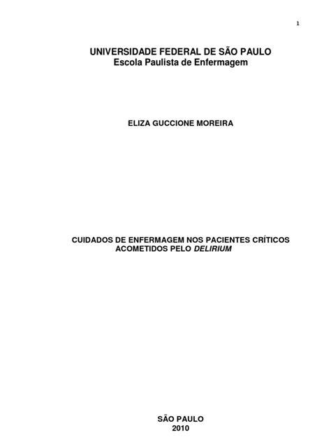 Monografia - Cuidados de Enfermagem Nos Pacientes Criticos