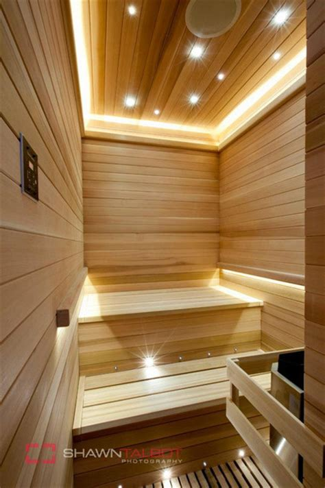 bathroom sauna poolhouse sauna room