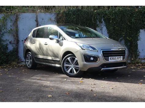 peugeot crossover used used peugeot 3008 crossover 1 6 bluehdi 120 allure s s for