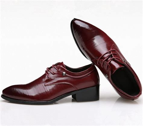 size 37 44 fashion wine dress shoes cool oxfords shoes summer lace up shoes
