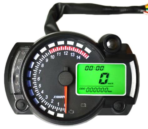 Digital Multimeter Souer Sd9208a other gadgets 12v 15000rpm adjustable motorcycle lcd