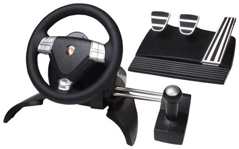 volante xbox 360 con cambio e frizione porsche 911 turbo steering wheel for pc playstation 3 photo 9