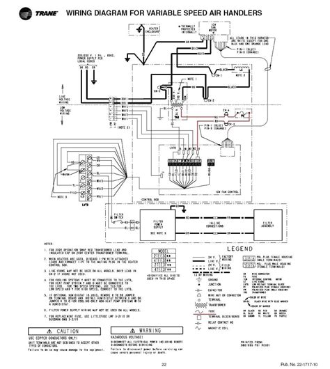 trane compressor wiring diagram trane air handler wiring diagram for solidfonts new heat