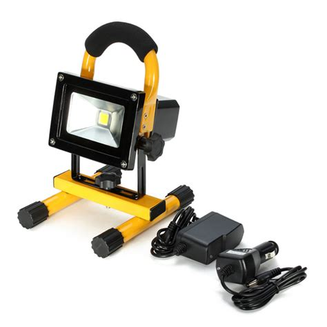 portable led lights outstanding features of portable rechargeable led flood
