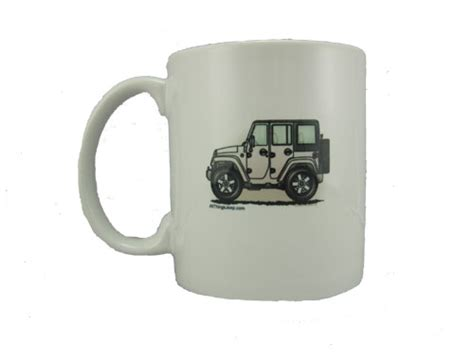 Jeep Coffee Mug All Things Jeep Jk Wrangler 4 Door Quot Where S Your