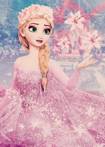 pink elsa wallpaper elsa and anna images 21312321321312 wallpaper and