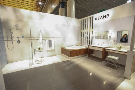bathroom experience toto s keane suite features a classically modern aesthetic