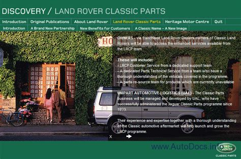 free download parts manuals 1994 land rover discovery windshield wipe control land rover discovery 1989 1994 parts owners workshop manuals parts catalog repair manual