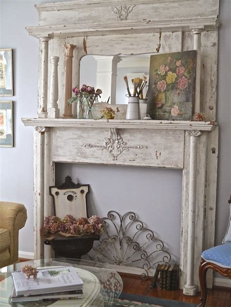 Living Room Mantel Ideas - chateau chic a new find inspires a change on the mantel