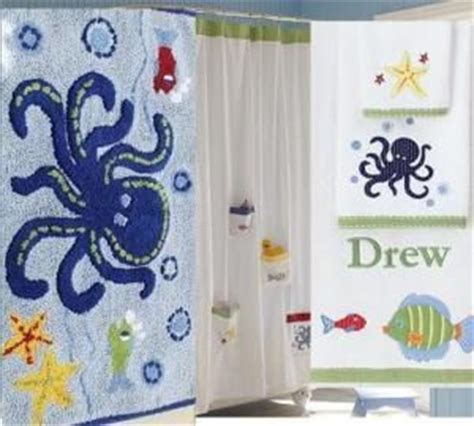 kids ocean shower curtain pottery barn round rugs on popscreen
