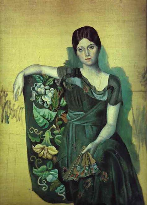picasso paintings olga s gallery ele de lauk las de pablo picasso sus retratos