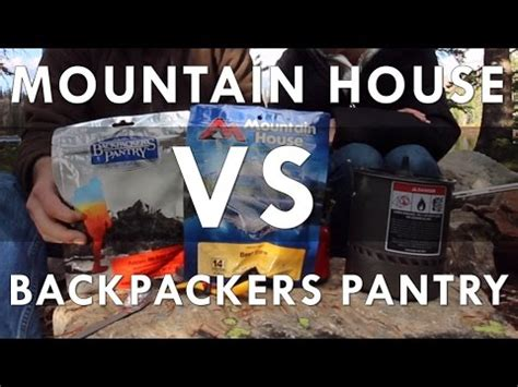 Mountain House Vs Backpackers Pantry by Mountain House Vs Backpackers Pantry