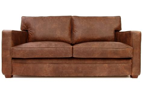 vintage leather sofa bed whitechapel vintage leather sofa bed from old boot sofas